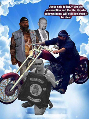 In Loving Memory of Revolucionarios MC Fallen Brothers