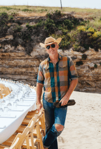 OUTSTANDING PIONEER San Jose native Jim Denevan began the farm-to-table dinner movement in 1999—attracting upwards of 10,000 guests per year.