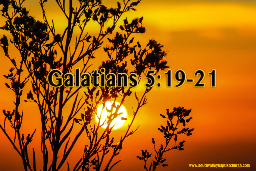 Galatians 5 Justification by Faith Part Four