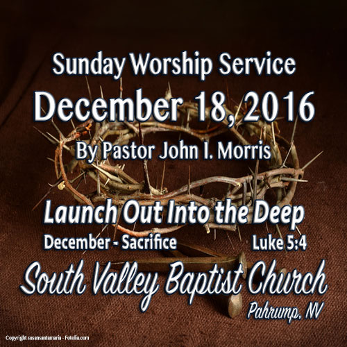 Dec 18 2016 Sermon