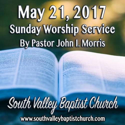 Sermon May 21 2017