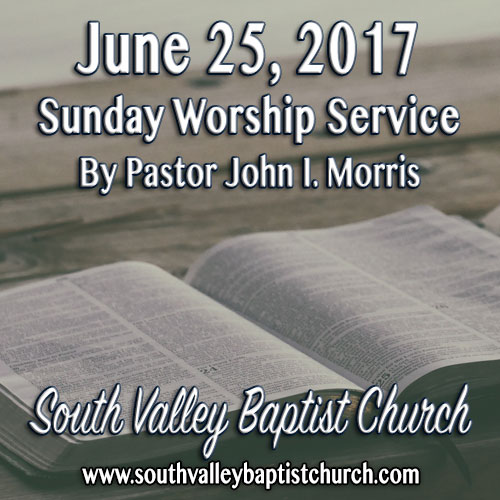 Sermon June 25 2017