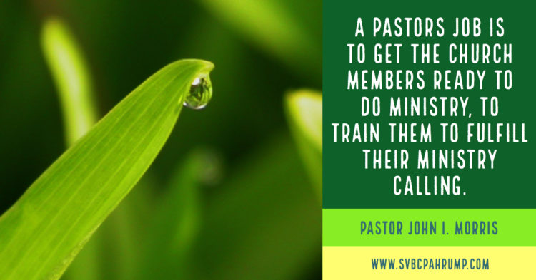 Pastors and Struggling Churches – South Valley Baptist