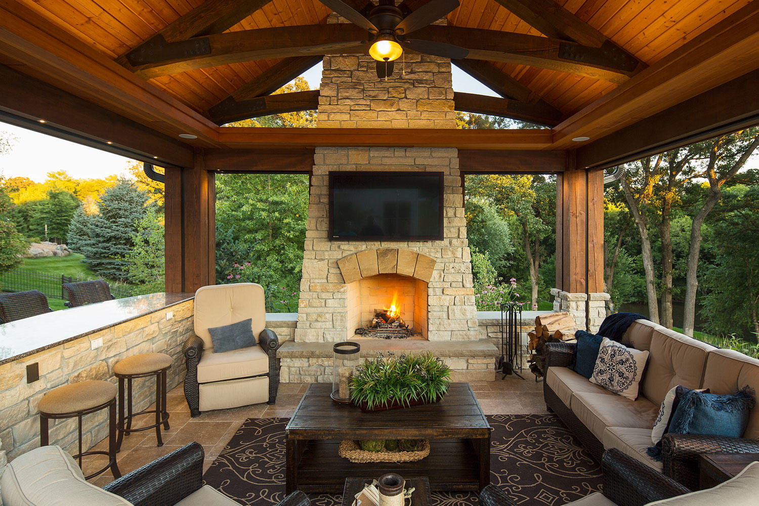 Outdoor Living Rooms Minneapolis & St. Paul | Southview Design on Garden Living Space id=24892