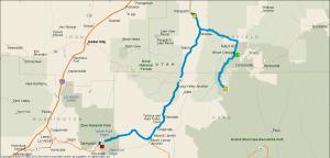 Gereden: 160 km.