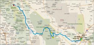 Gereden: 620 km.