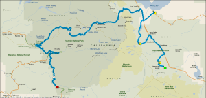 Gereden: 235 km.