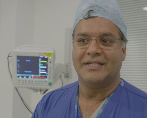 Raj Persad talks about robotic surgery