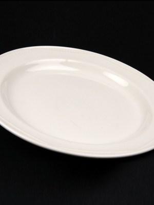 "DINNER PLATE 10"" WHITE CROCKERY HIRE"