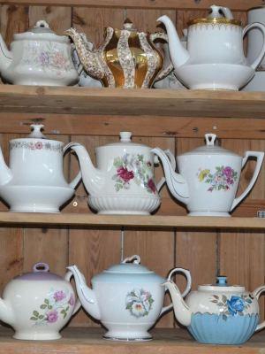 Vintage China Teapot