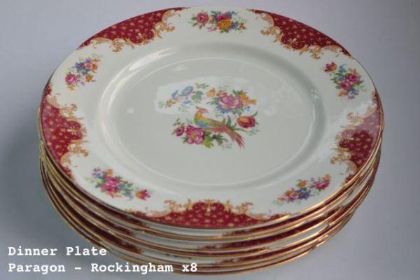 Vintage China Dinner Plate