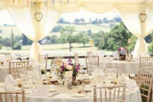 Marquee table hire