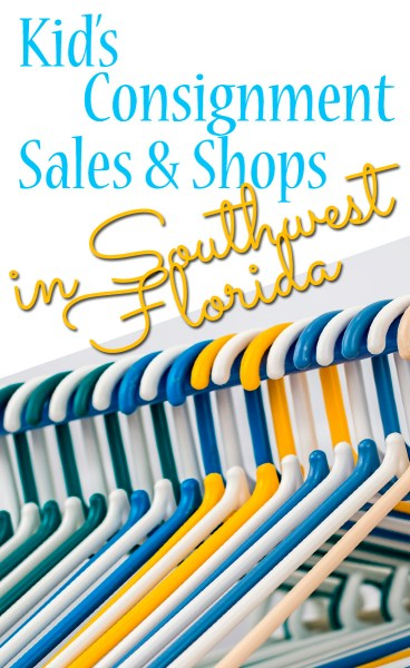 Spring Consignment Sales in Southwest Florida
