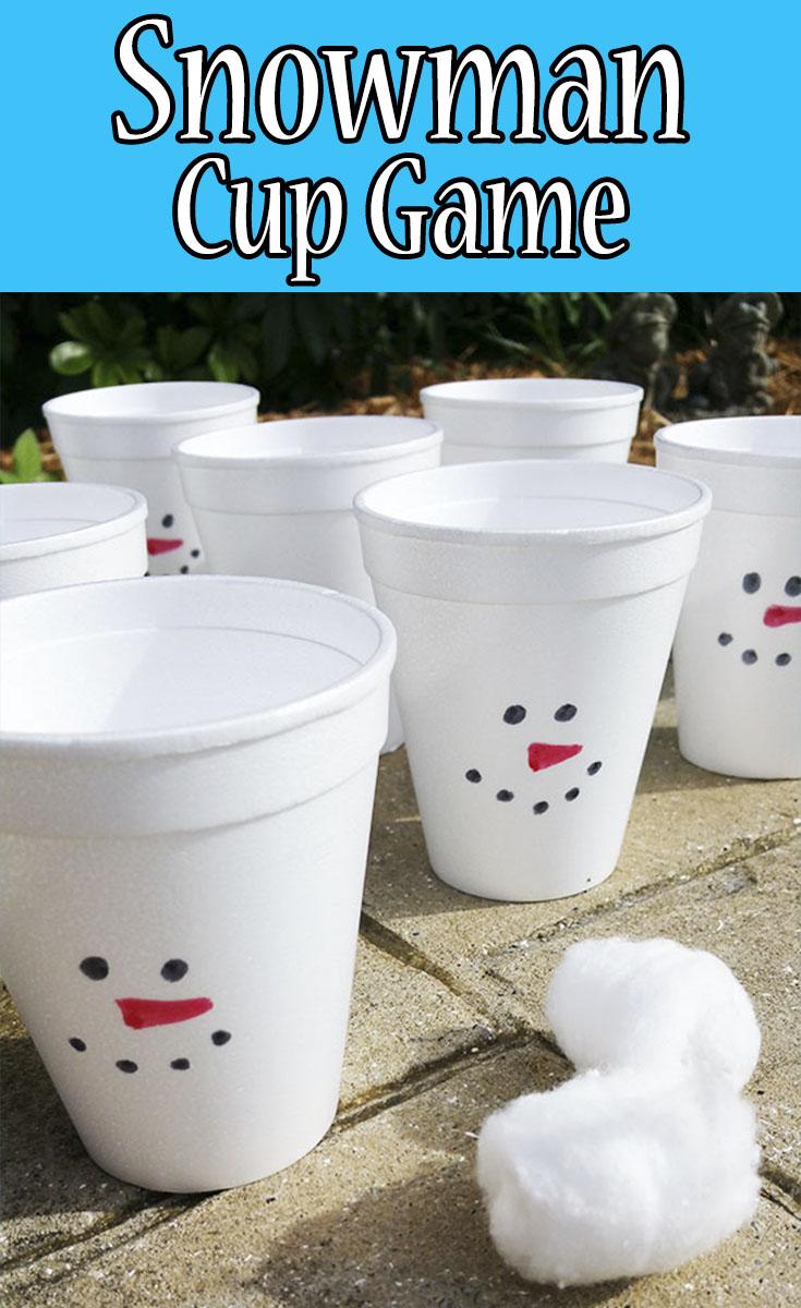 Snowman Cup Game Mom Explores Southwest Florida