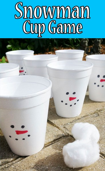 Snowman Cup Game