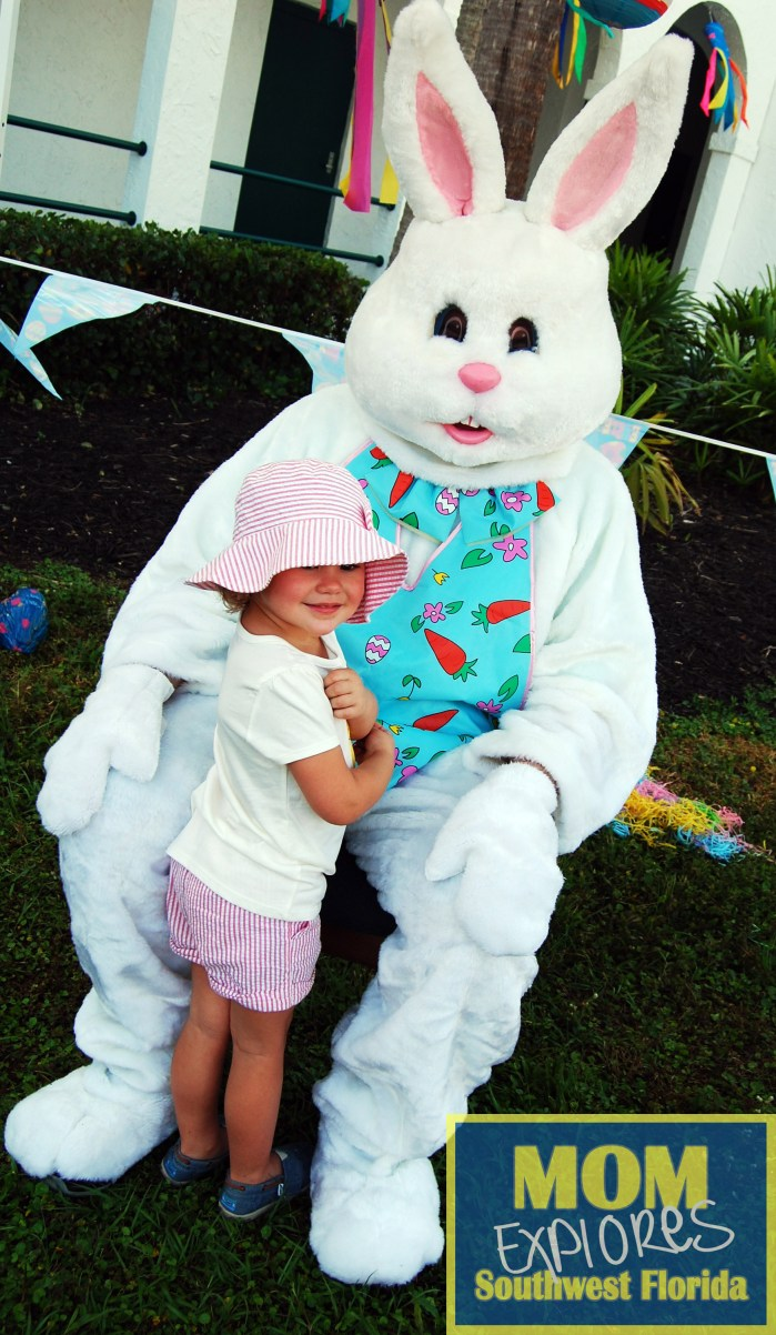 Easter Bunny with Maggie