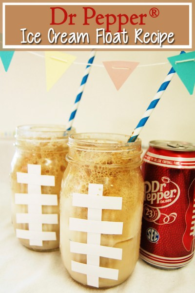 Dr Pepper® Ice Cream Floats