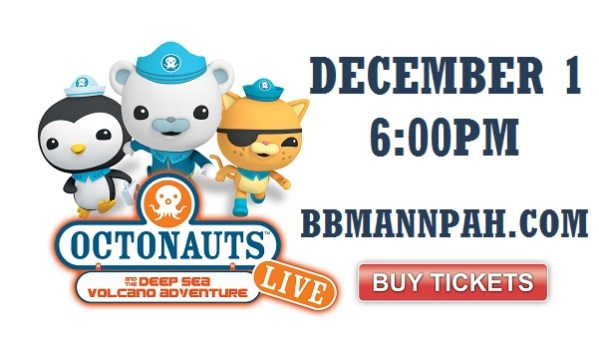 Octonauts Live Ticket Giveaway