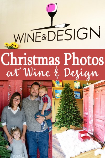 Christmas Photos at Wine & Design