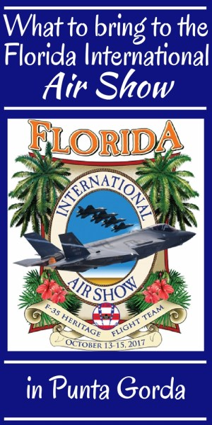 What to bring to the Florida International Air Show