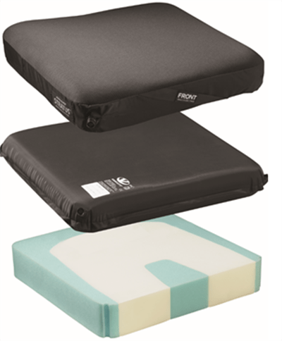 stratus cushion stacked