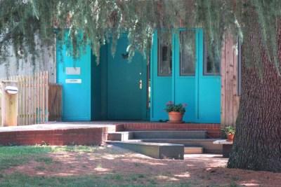 Cameron Village Blue House