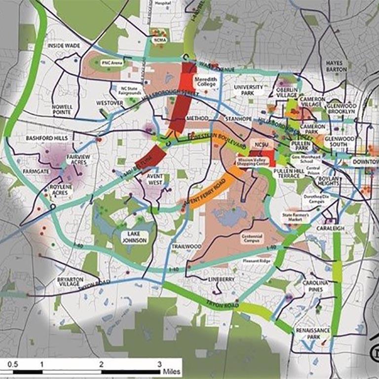 Neighborhoods in Southwest Raleigh