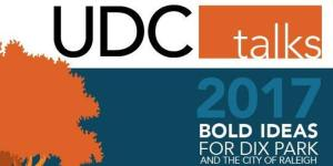 Urban Design Center Talks: Bold Ideas for Dix Park and the City of Raleigh @ NC State College of Design | Raleigh | North Carolina | United States