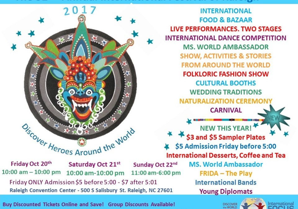 32nd International Festival of Raleigh