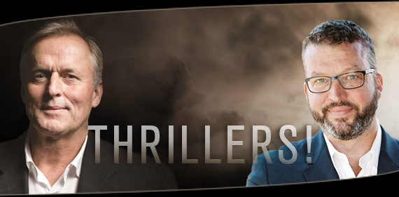Thrillers! An Evening with Authors John Grisham and John Hart