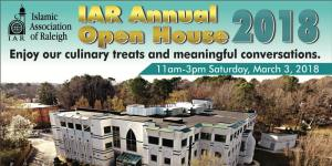 Islamic Association of Raleigh Annual Open House @ Islamic Association of Raleigh | Raleigh | North Carolina | United States