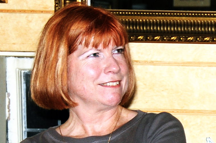 Eileen Elsey at a Southwest Scriptwriters meeting in 2008