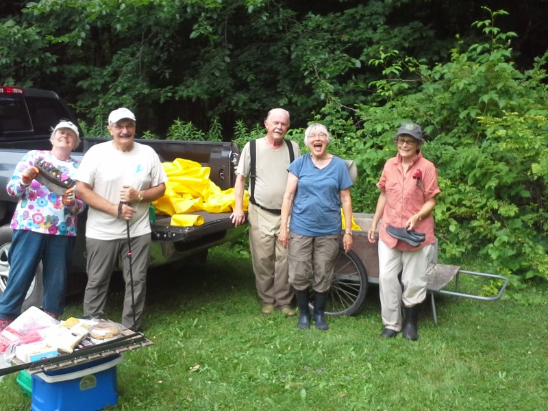 SWCA/HOORWA RIVER CLEANUP WALK SATURDAY, JULY 13 AT 1:30 PM