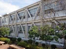宋徳建設 府立加悦高等学校 管理教室棟耐震補強工事