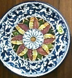 g ceramics plate florence 1