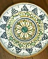 g ceramics plate florence 2