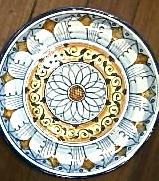 g ceramics plate florence 3