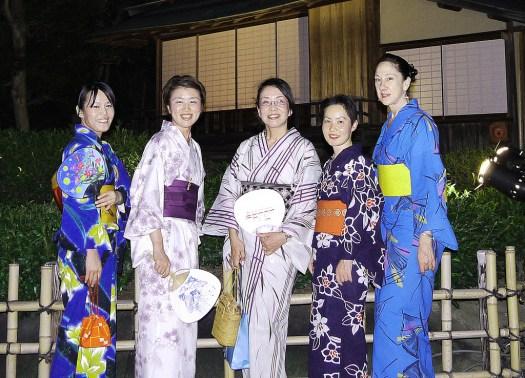 Yukata party Japan souvenir