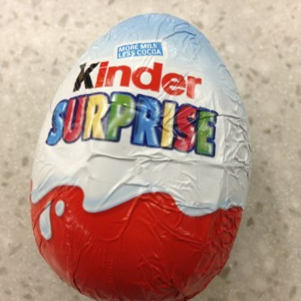 kinder surprise egg illegal us