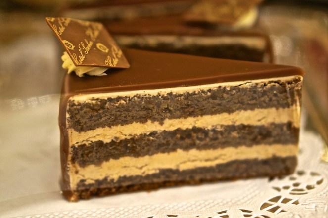 sacher cafe cake chocolate vienna cream filled