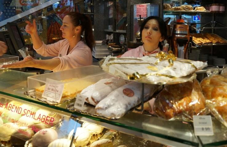 cafe aida vienna cakes counter austria