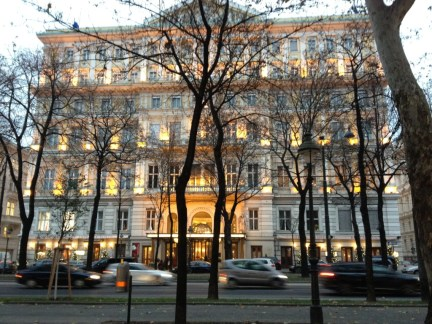 hotel imperial vienna photo image