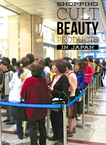Lining Up For Japanese Cult Beauty Products