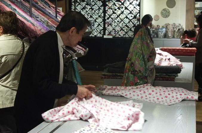 Liberty Art print fabrics are cut to order london department store