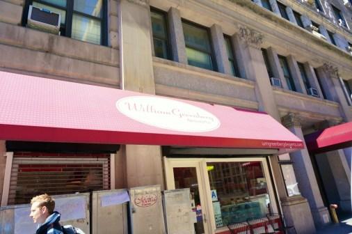 William Greenberg Desserts store front on Madison Avenue