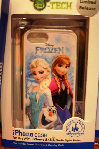 Elsa Anna Frozen iphone case disney world magic kingdom merchandise