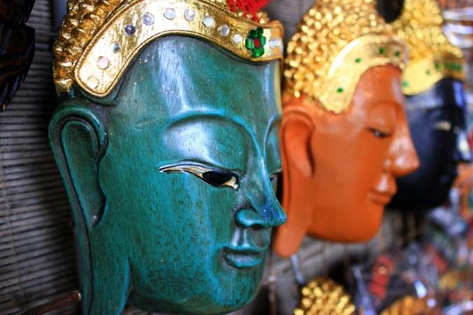 Thai masks - great home decoration