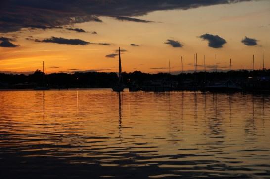 sunset chesapeake bay