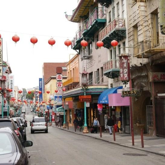 Stroll under the lanterns to visit unique Chinatown shops and restaurants.