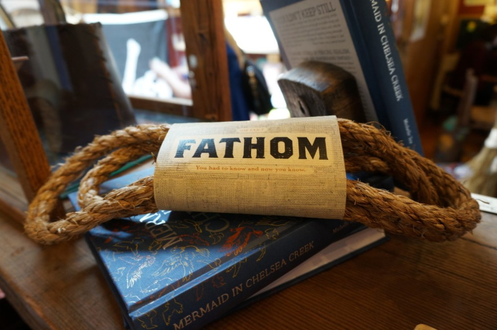 Ever wonder how Fathoms are measured? With a fathom-sized rope of course.